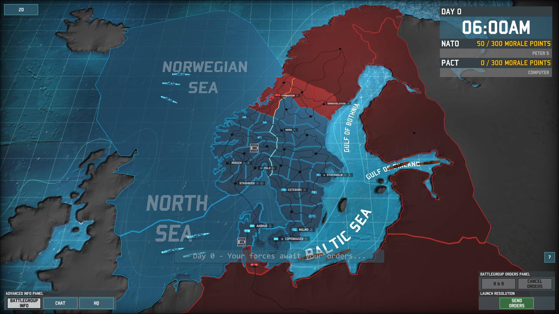 battle of scandinavia