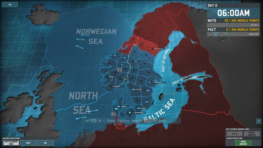 Welcome to Scandinavia, the setting of Wargame: AirLand Battle