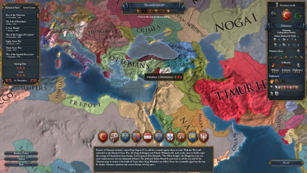 The World that May Have Been, a Europa Universalis IV Let's Play -- Part 1: Never Pick on Someone Your Own Size (3/6)