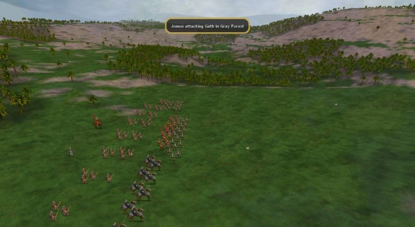 Dom4 Battle Start