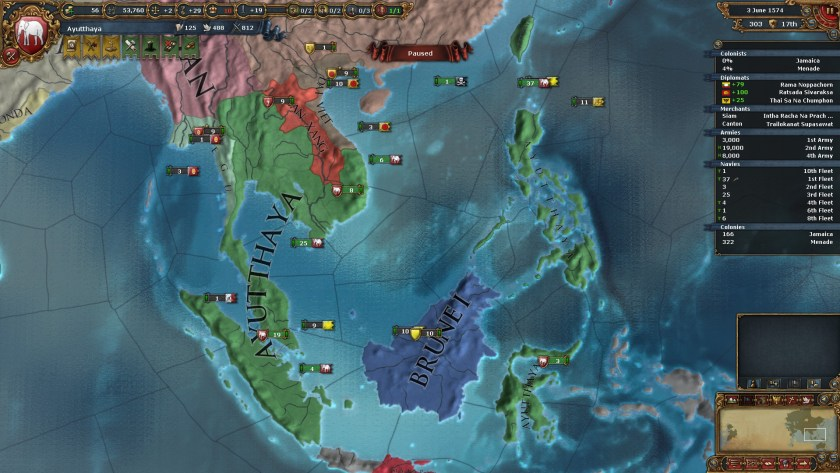 Supreme in Southeast Asia... but still second to Ming.
