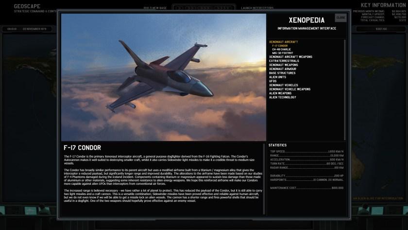 Xenonauts Condor