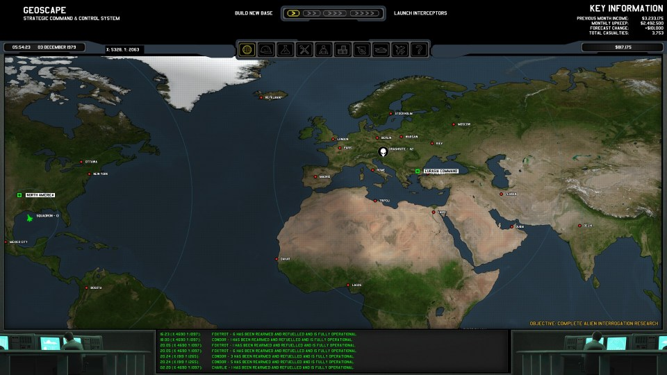 Xenonauts world map