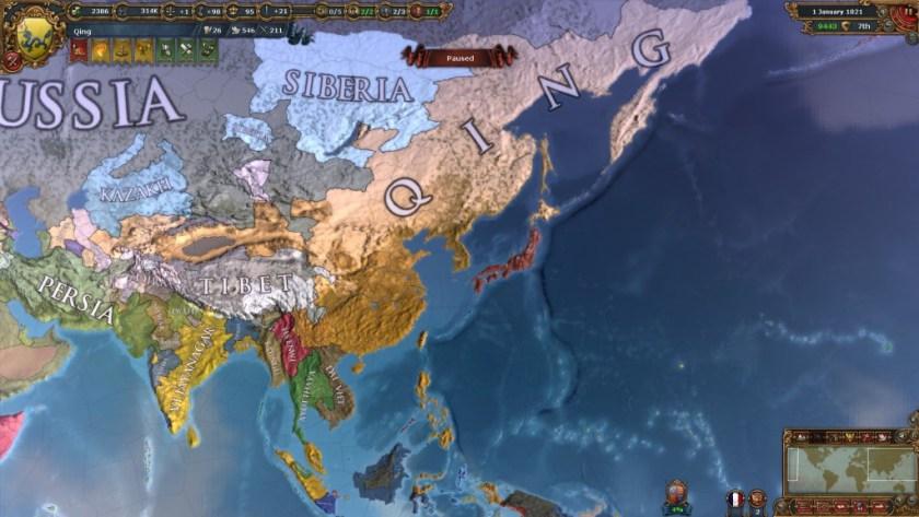 EU4 Qing Endgame