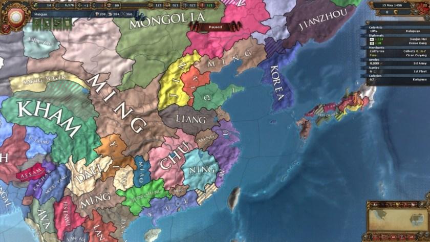 EU4 - Meiguo - Asia glimpse