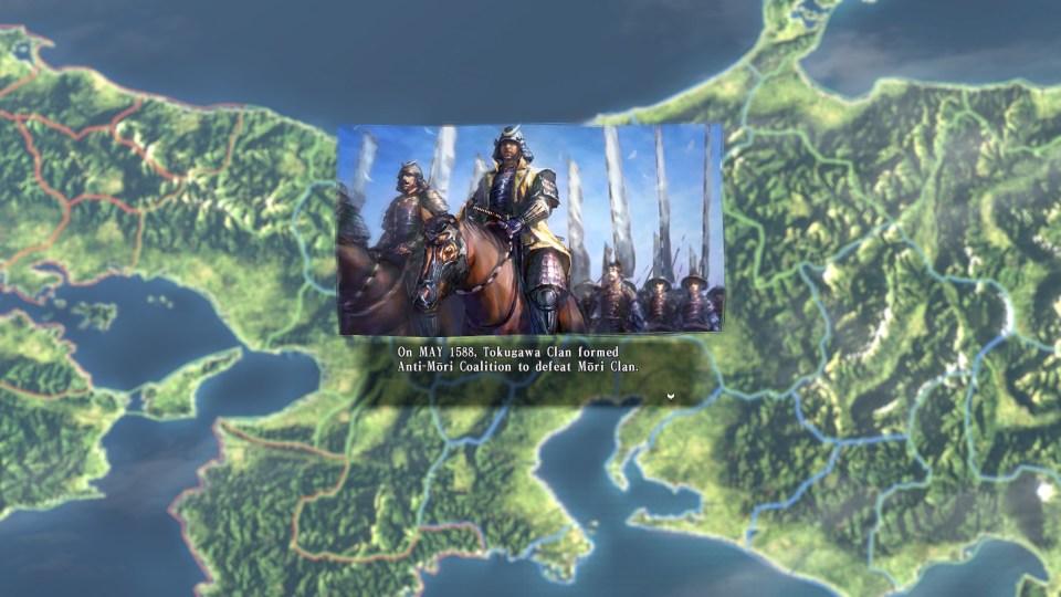Nobunagas Ambition - Anti Mori Coalition