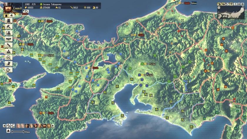 Nobunaga's Ambition - Post Honnoji 1