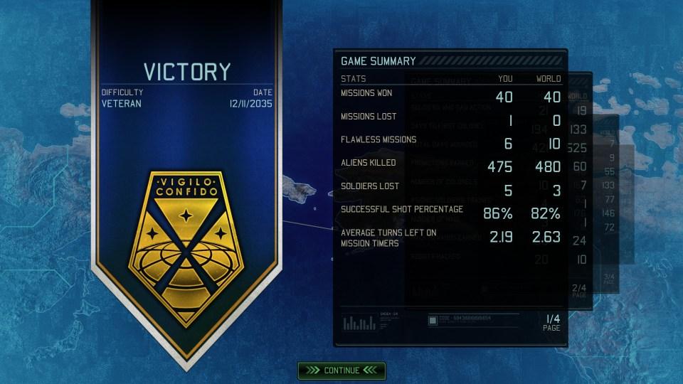 XCOM 2 victory