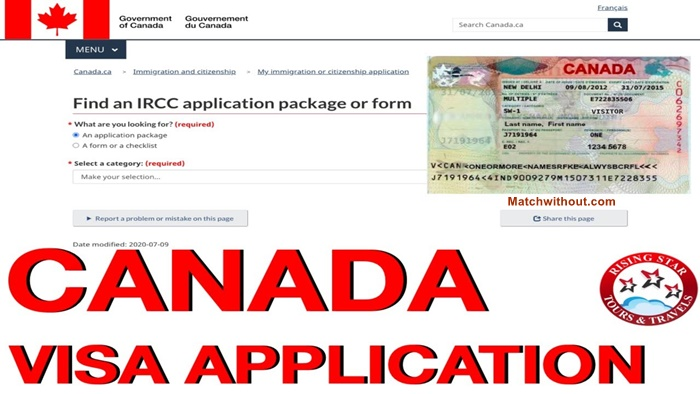 2021/2022 Canada Visa Application Form - Apply For Canada Visa