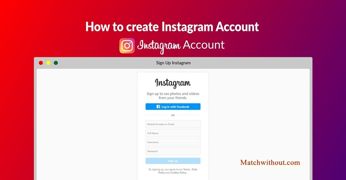 How To Create Instagram Account | Instagram Account Sign Up