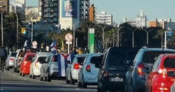 Caravana en Solidaridad con Cuba