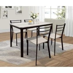 ensemble table a manger et chaise pas