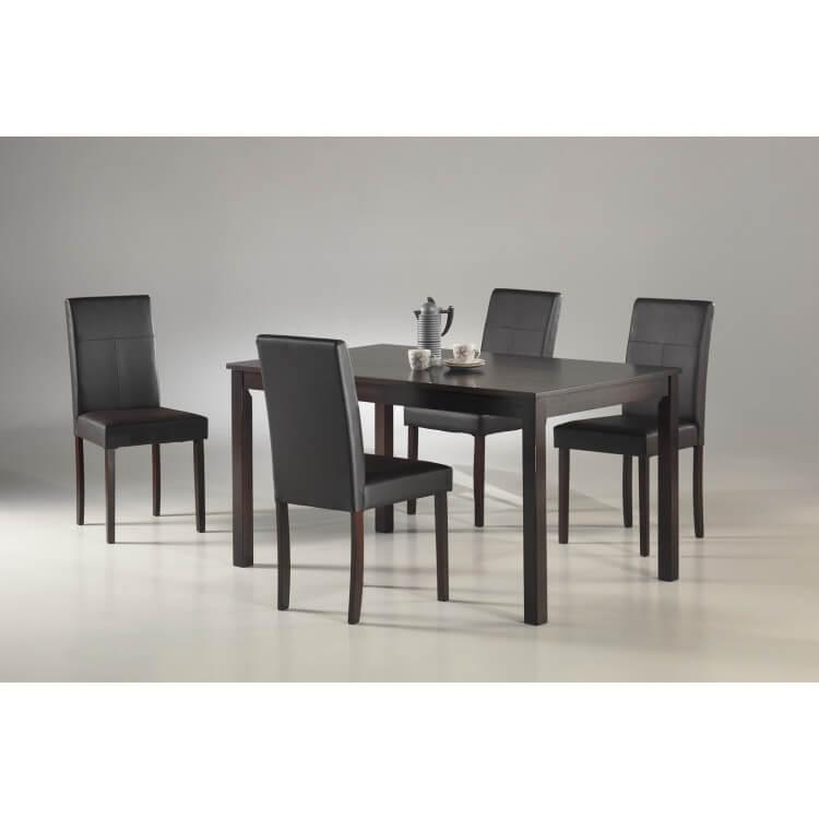 ensemble table chaises de salle a manger aurelie
