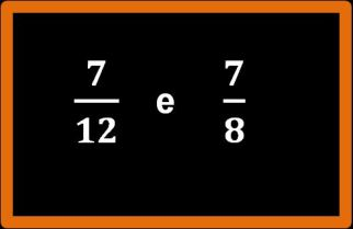 Confronto tra frazioni con lo stesso numeratore