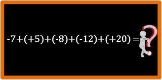 addizione numeri relativi