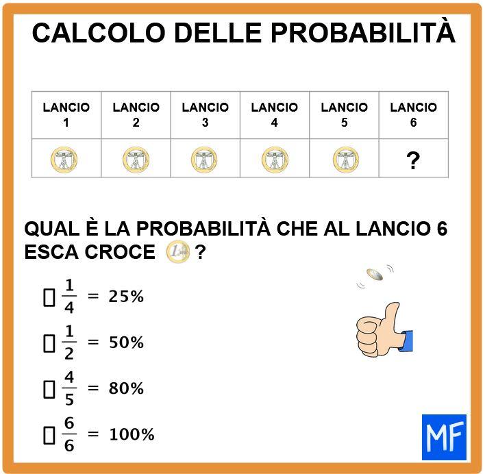 Primi passi nello studio della probabilità