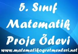 5. Sınıf Proje Ödevi