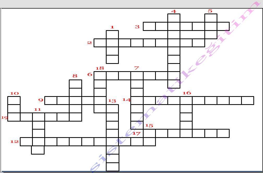 7. Sınıf matematik bulmacası ve cevapları