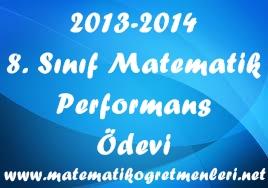 8. sınıf 2. dönem performans