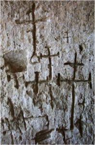Matera Chiesa rupestre Madonna delle tre porte