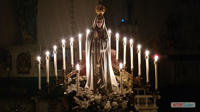 Candlelit Rosary in Honor of Our Lady of Fatima