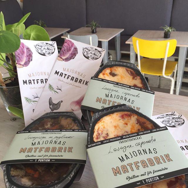I samarbete med Majornas Matfabrik kan vi nu erbjuda Bråttom-mat-för-finsmakaren. Härligt god färdigmat #materiamajorna #majornasmatfabrik