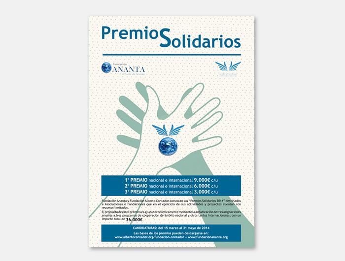 diseño Papelería corporativa identidad visual Fundación Ananta