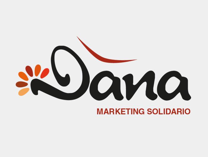Diseño de logotipo e identidad visual Dana solidario