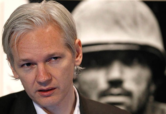 Julian Assange - fundador do WikiLeaks