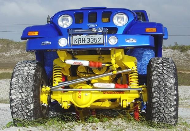 Jeep Willys CJ-5 Mammoth