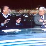 Galvão Bueno, da Globo, e Ricardo Teixeira, da CBF… tudo a ver