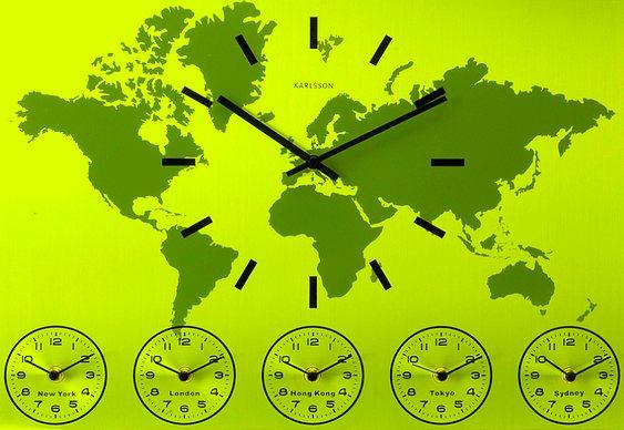 Hora igual em todos os países