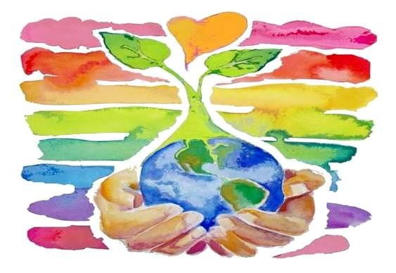Desenho sobre o Dia da Terra