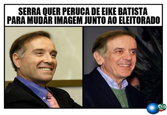 Charge José Serra