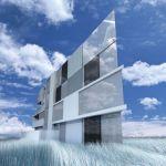 Projeto genial para construção barata em terreno triangular