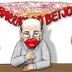 Após beijo na boca da periguete, Serra 'se acha'… um símbolo sexual