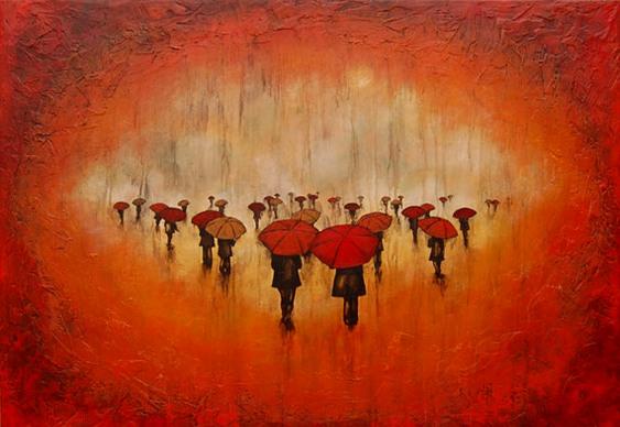 Chuva vermelha de sangue