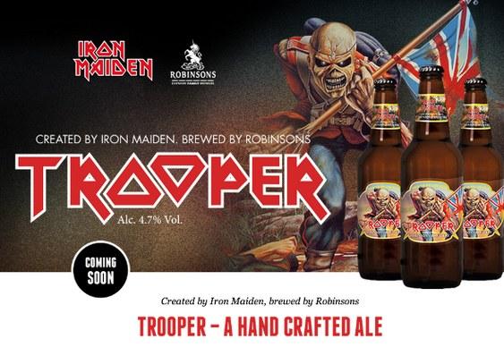 Trooper - a cerveja do rock