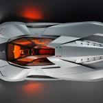 Carro 'Egoista' da Lamborghini só tem lugar para o motorista