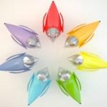 Design: lustres e abajures com a forma de passarinhos