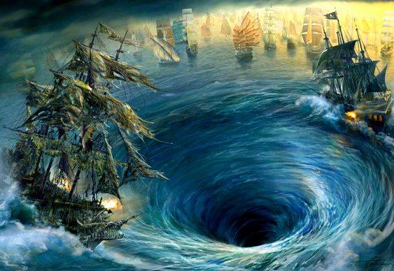 Turbilhão no Mar