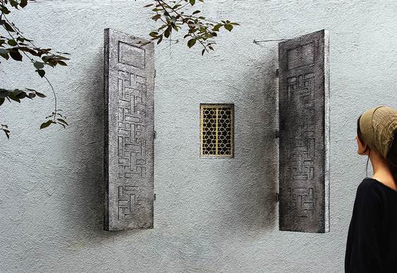 Pintura estilo árabe