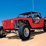 Carroceria de buggy com design de Jeep Willys e Wrangler