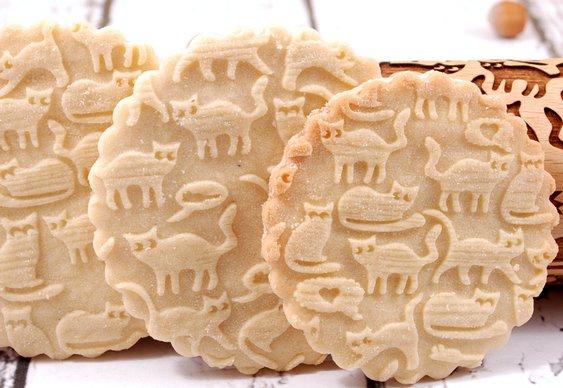 Biscoitos de gatinhos