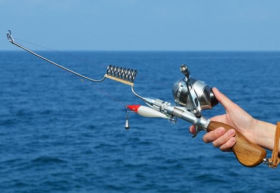 Vara de pesca compacta