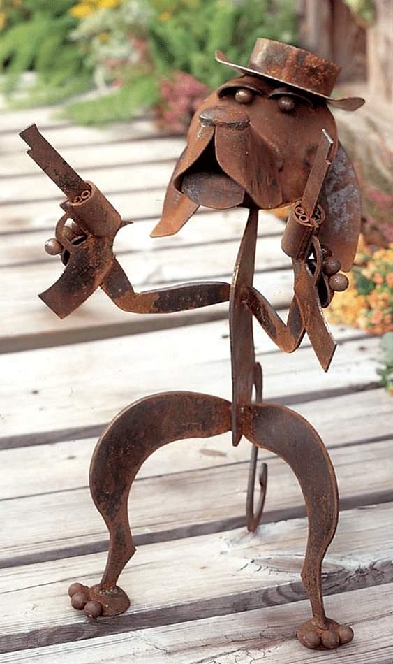 Escultura para jardim
