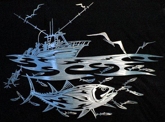 Decoração temática de pescaria