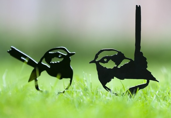 Enfeite para gramados e jardins