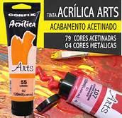 Tinta Acrílica Corfix Arts