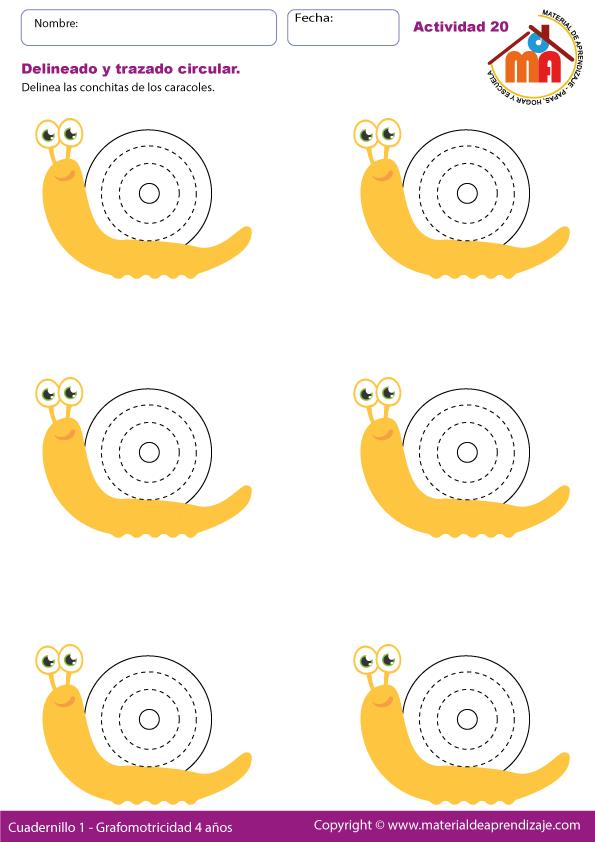 Delineado y trazado circular